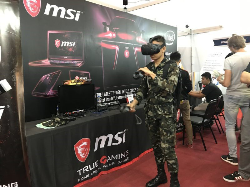 MSI Brings a whole new reality #MSIVirtualReality.